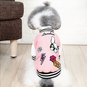 Other - Pet- Adorable Pink Fashion Jacket